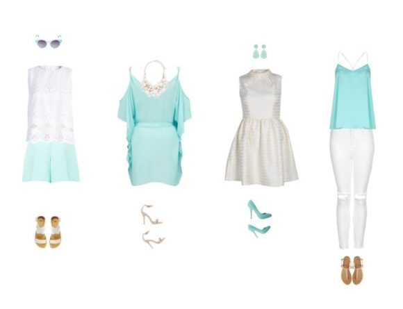 Mint outfits