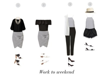 Outfits with stripes