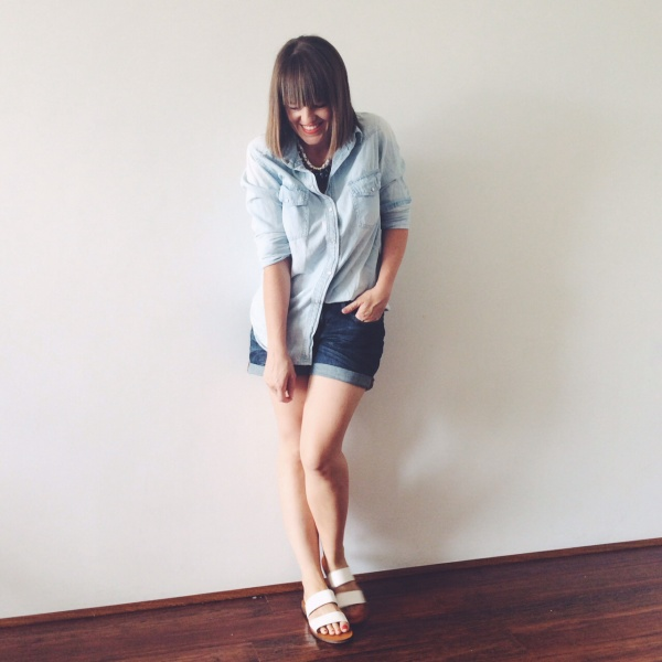 How to wear double denim summer