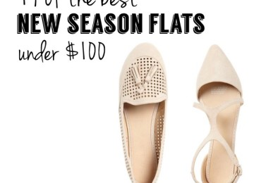 New season flats under $100 Pretty Chuffed