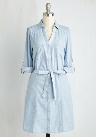 Modcloth shirt dress