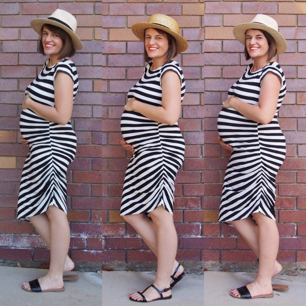 Pregnancy bump comparison