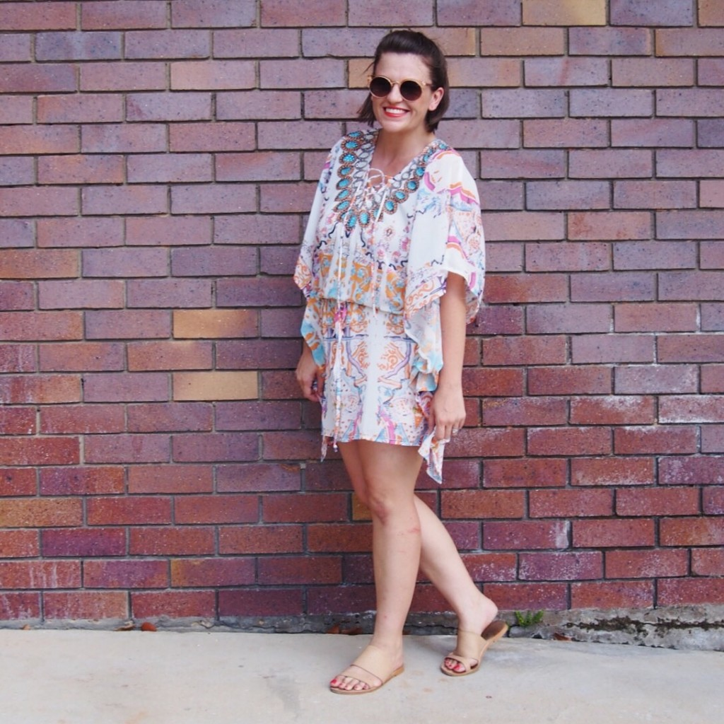 Dressing Up a Kaftan Dress | What I Wore - Pretty Chuffed