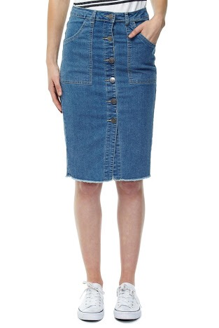 pretty chuffed 6 denim pencil skirts 80 must