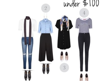 Outfits under $100: what to