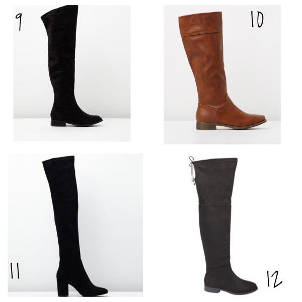Spendless Shoes Knee High Boots