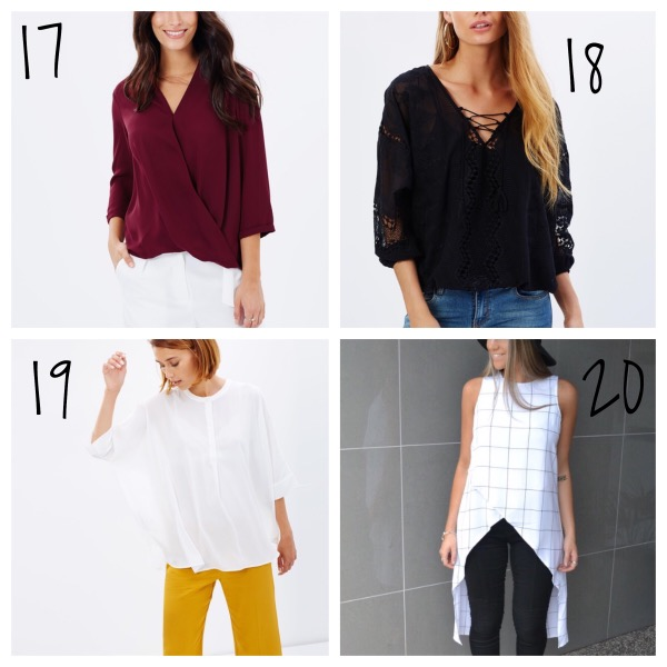 20 dressy tops to wear with jeans musthave monday