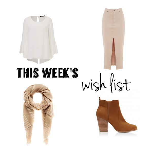 This Week's Late Night Shopping (Wish) List