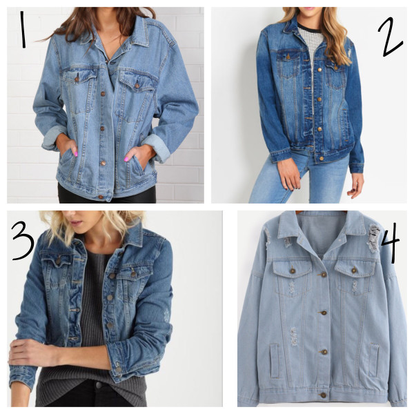denim jacket under $100
