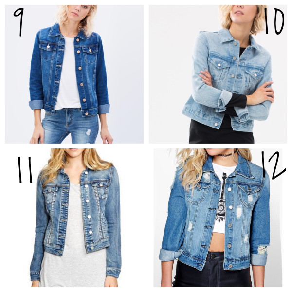 affordable denim jackets