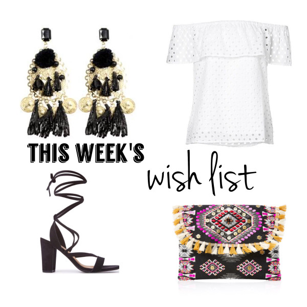 Boho Goodies | This Week's Late Night Shopping (Wish) List