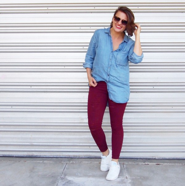 kmart chambray shirt