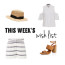 Stripes, White and Tan | This Week's Late Night Shopping (Wish) List