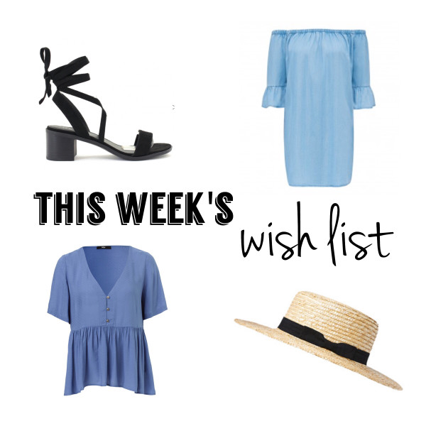 Spring Ahoy! | This Week's Late Night Shopping (Wish) List