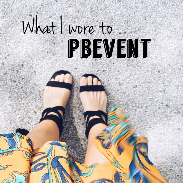 What I Wore to a Blogging Conference