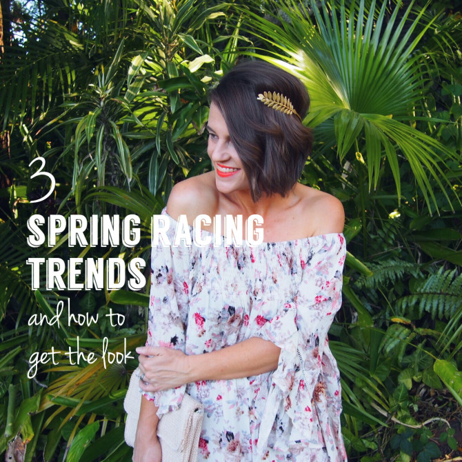 Three Major Spring Racing Trends and How to Get The Look (for Less)