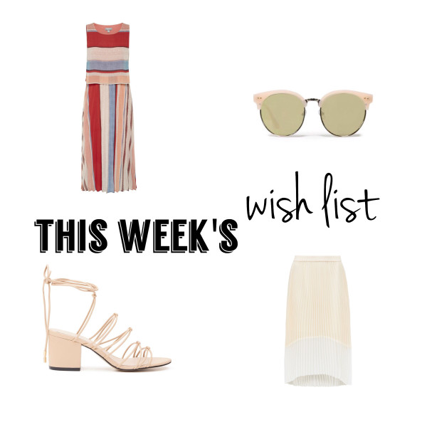 Pleated Skirts and Dresses | This Week's Late Night Shopping (Wish) List