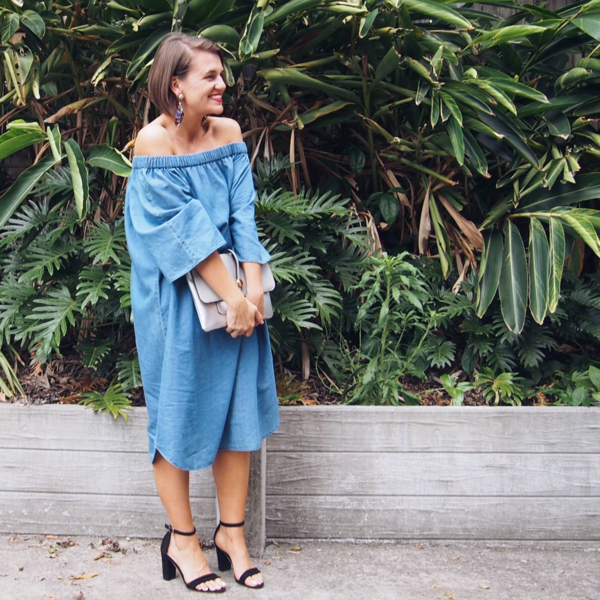 styling you shop adrift chambray dress