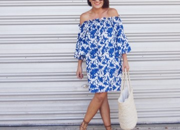 shabby sisters rachel dress off the shoulder OTS