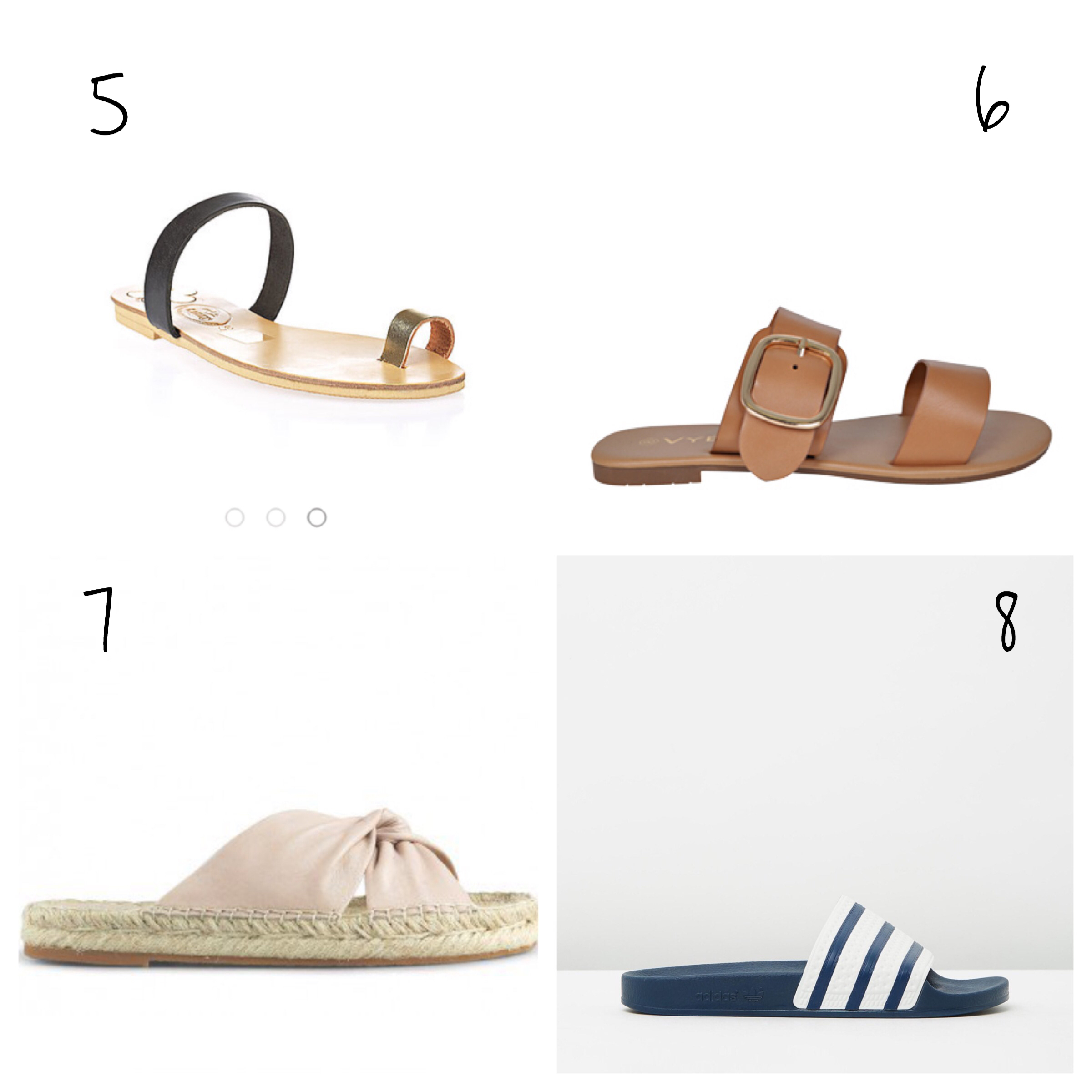 leather sandals adidas slides pool slides blogger