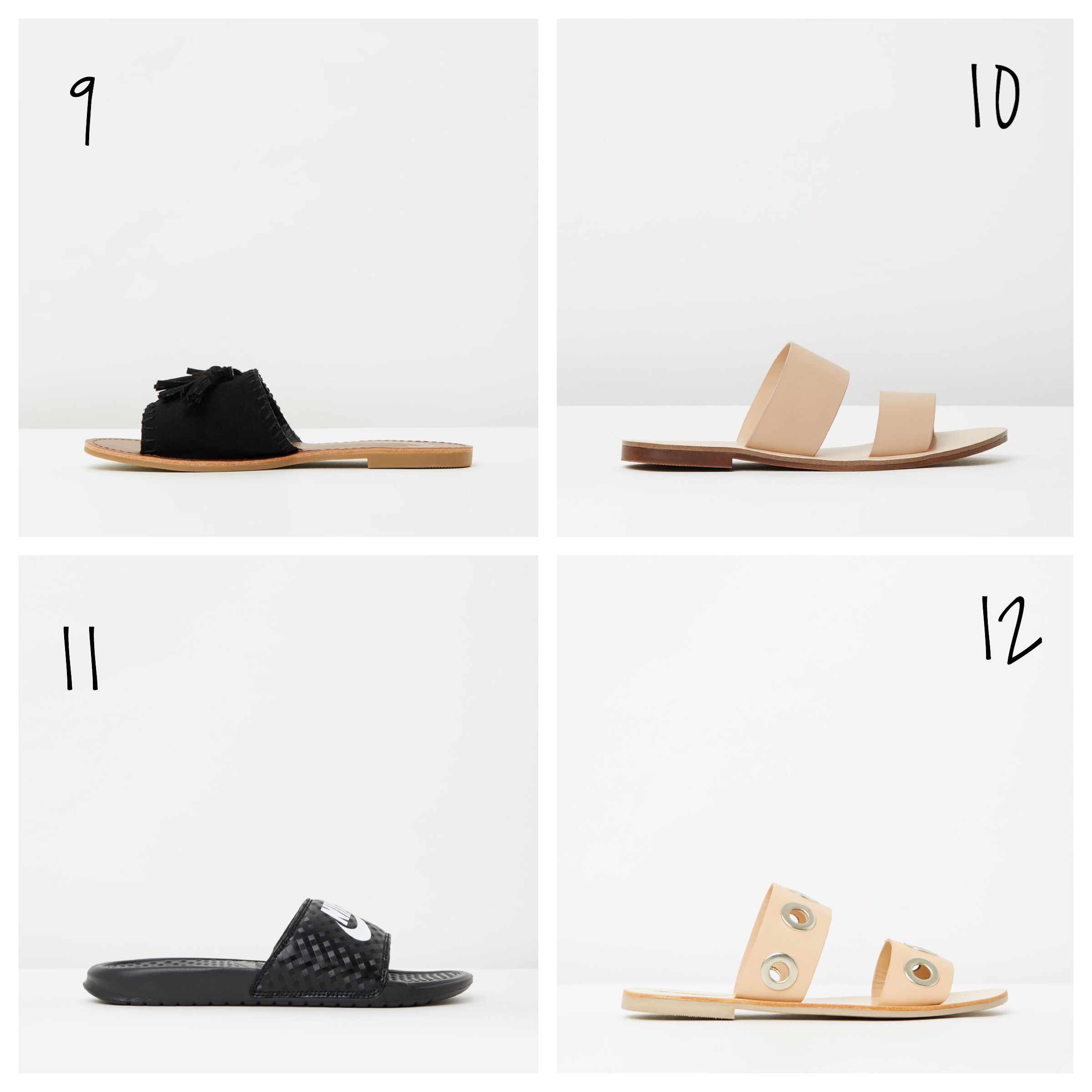 nike slides pool slides leather slides mules