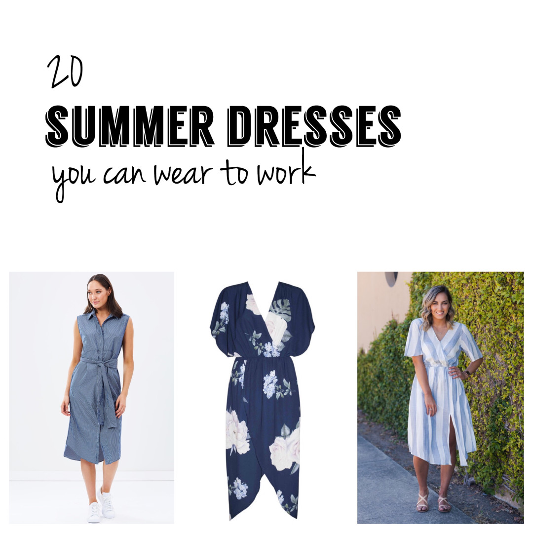 20 Summer Dresses You Can Wear to Work