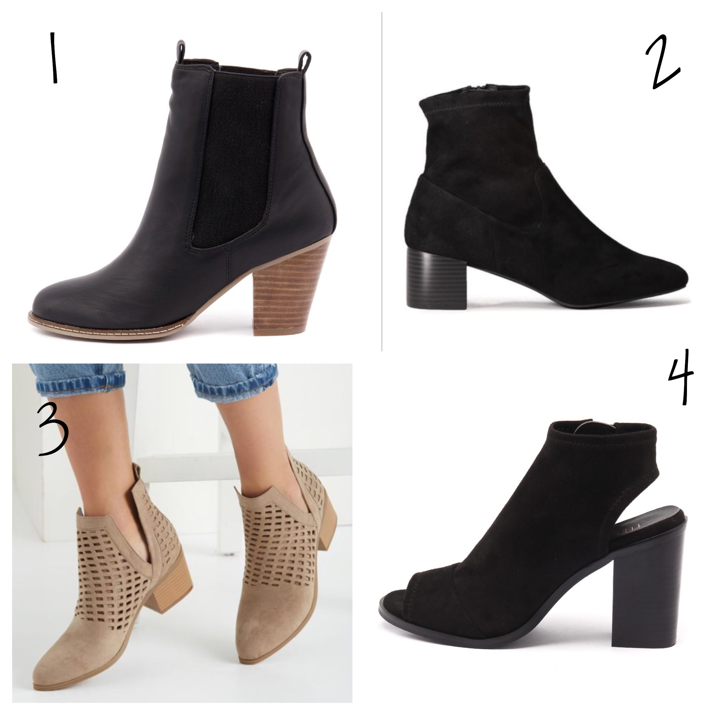 ankle boots under 100
