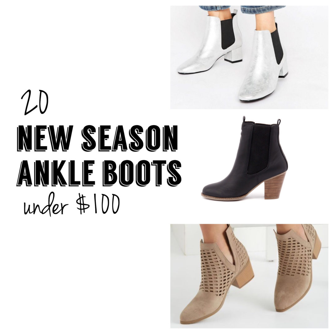 affordable ankle boots under 100