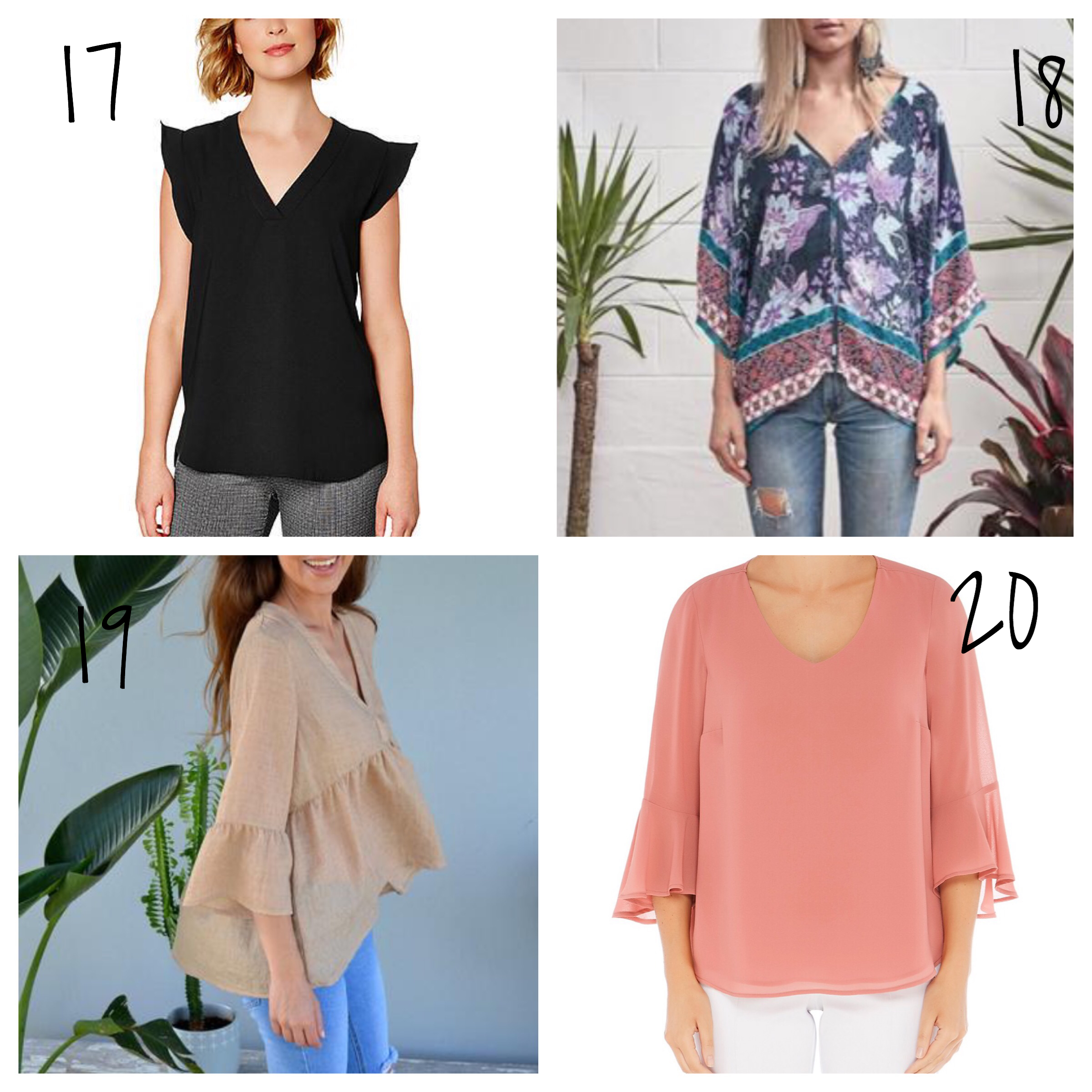 tops to wear with jeans