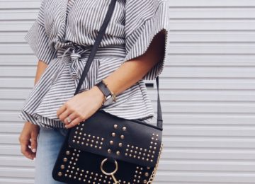 black and gold bag shein