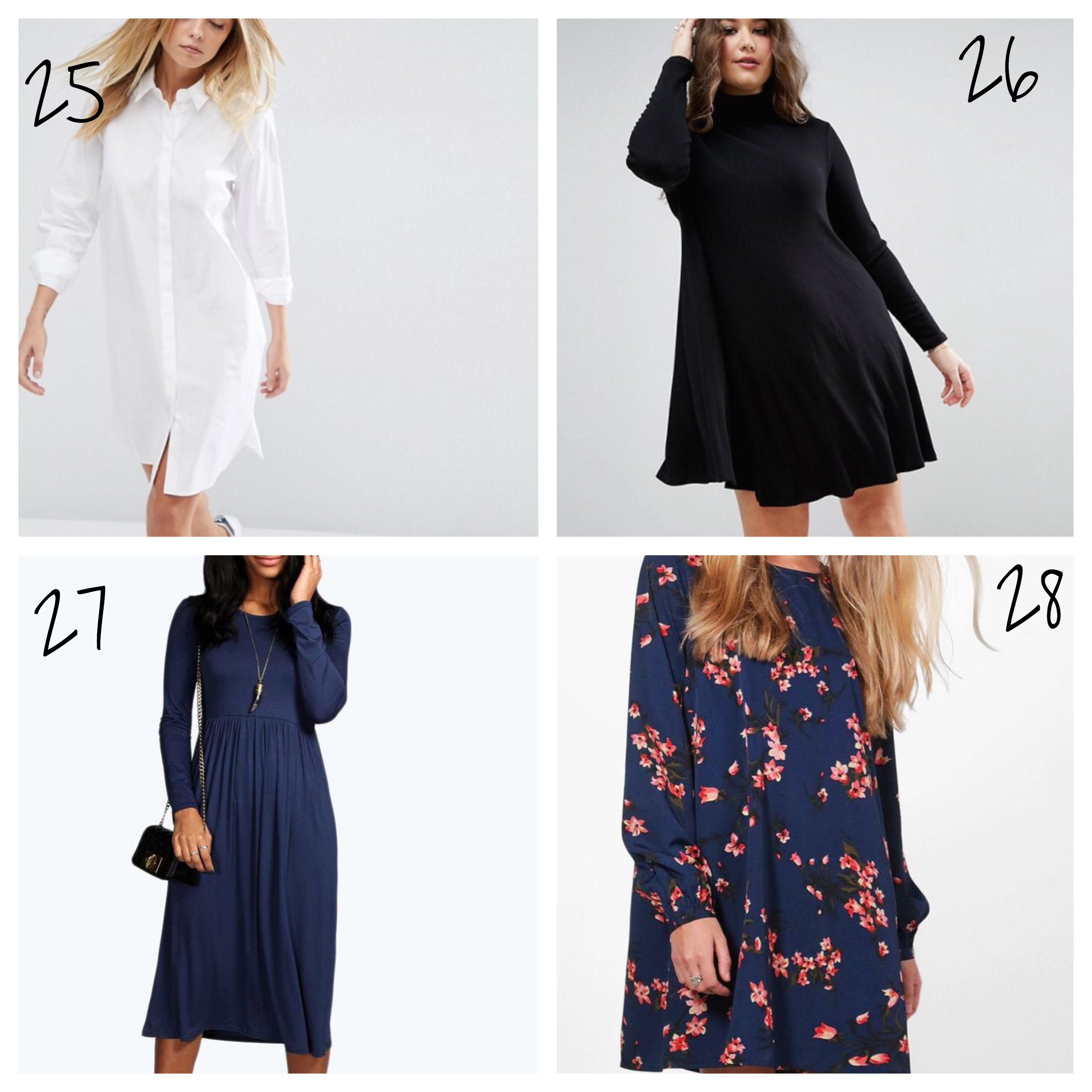 long sleeve dresses winter what to wear