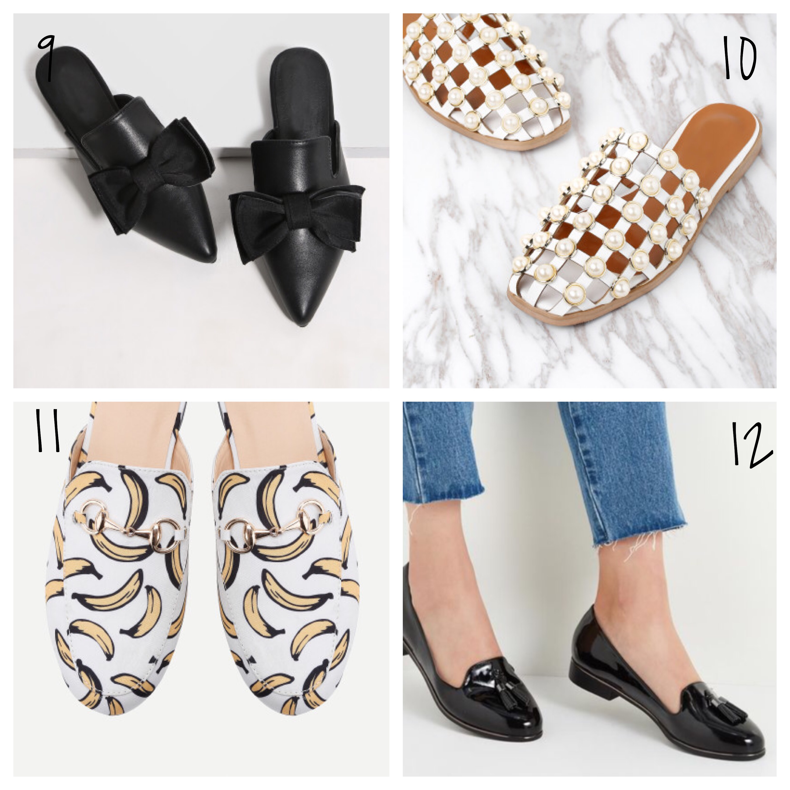 Slip on shoes affordable blogger style