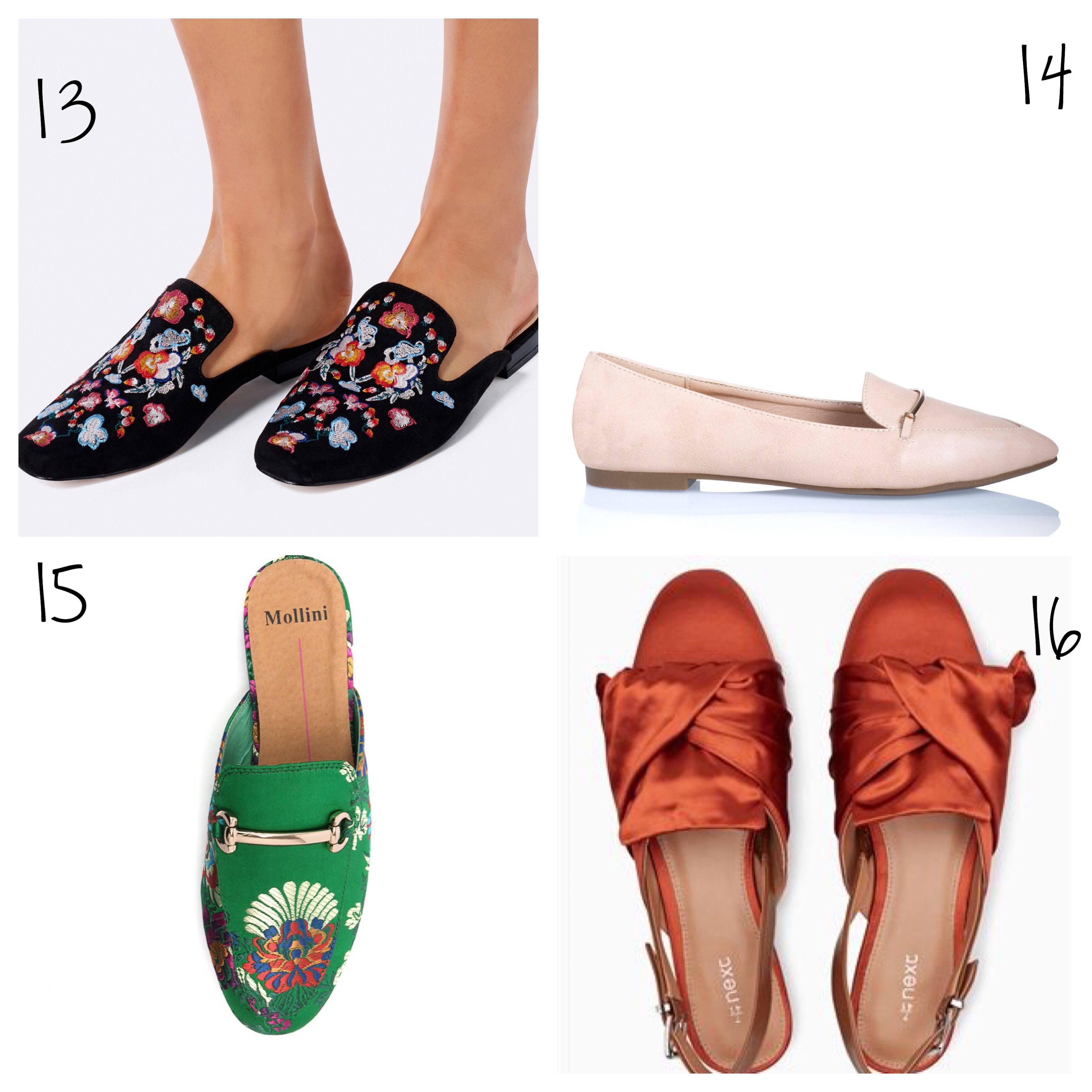 Forever New embroidered loafers and other fun flats under $100