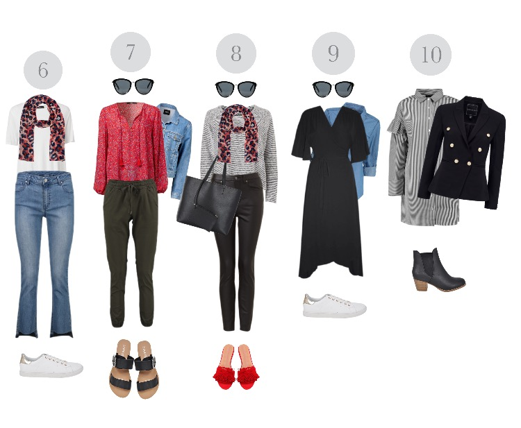capsule wardrobe outfit ideas for mums