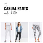 casual pants under $100 prettychuffed mum fashion blogger