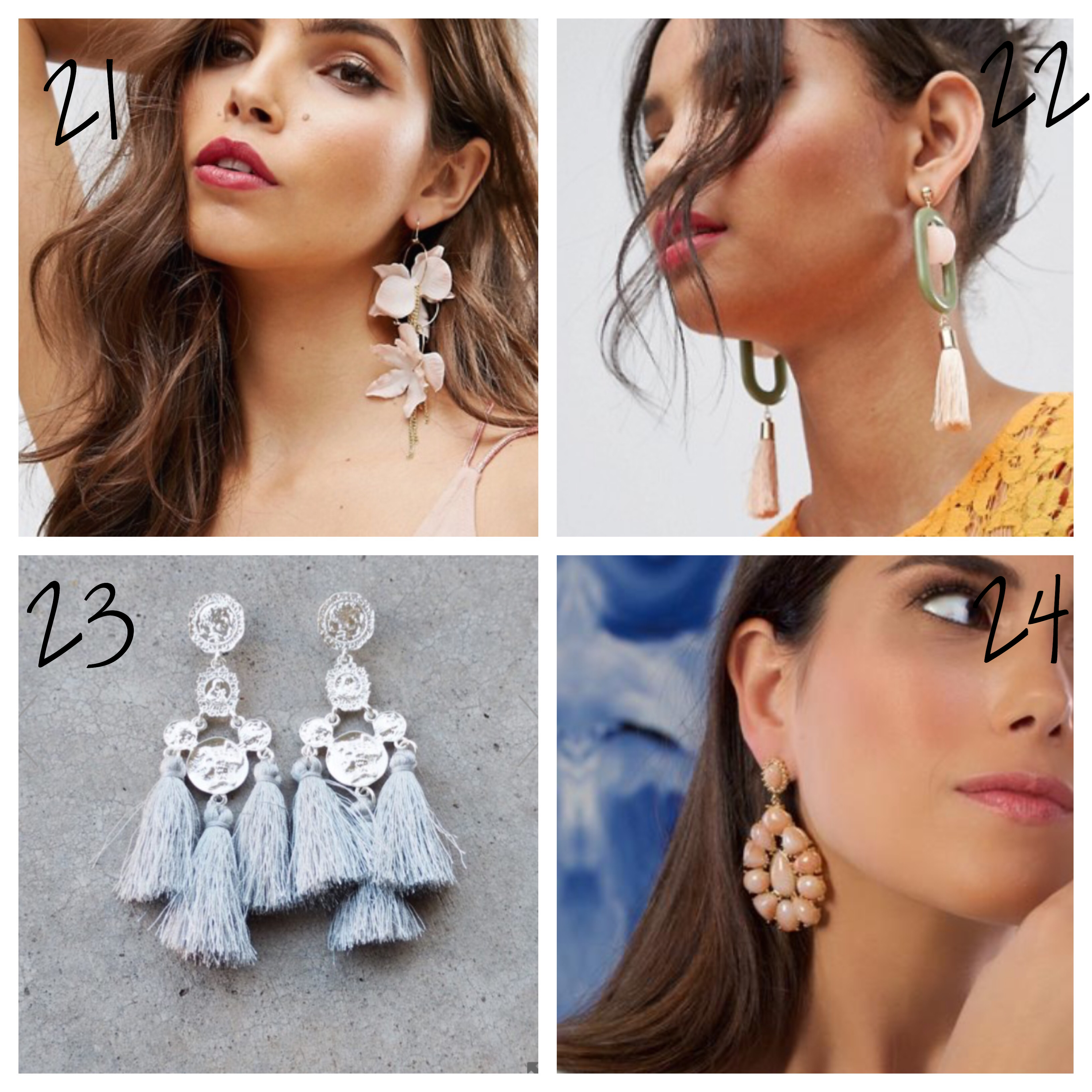 Statement earrings are an easy way to update your outfit for the season