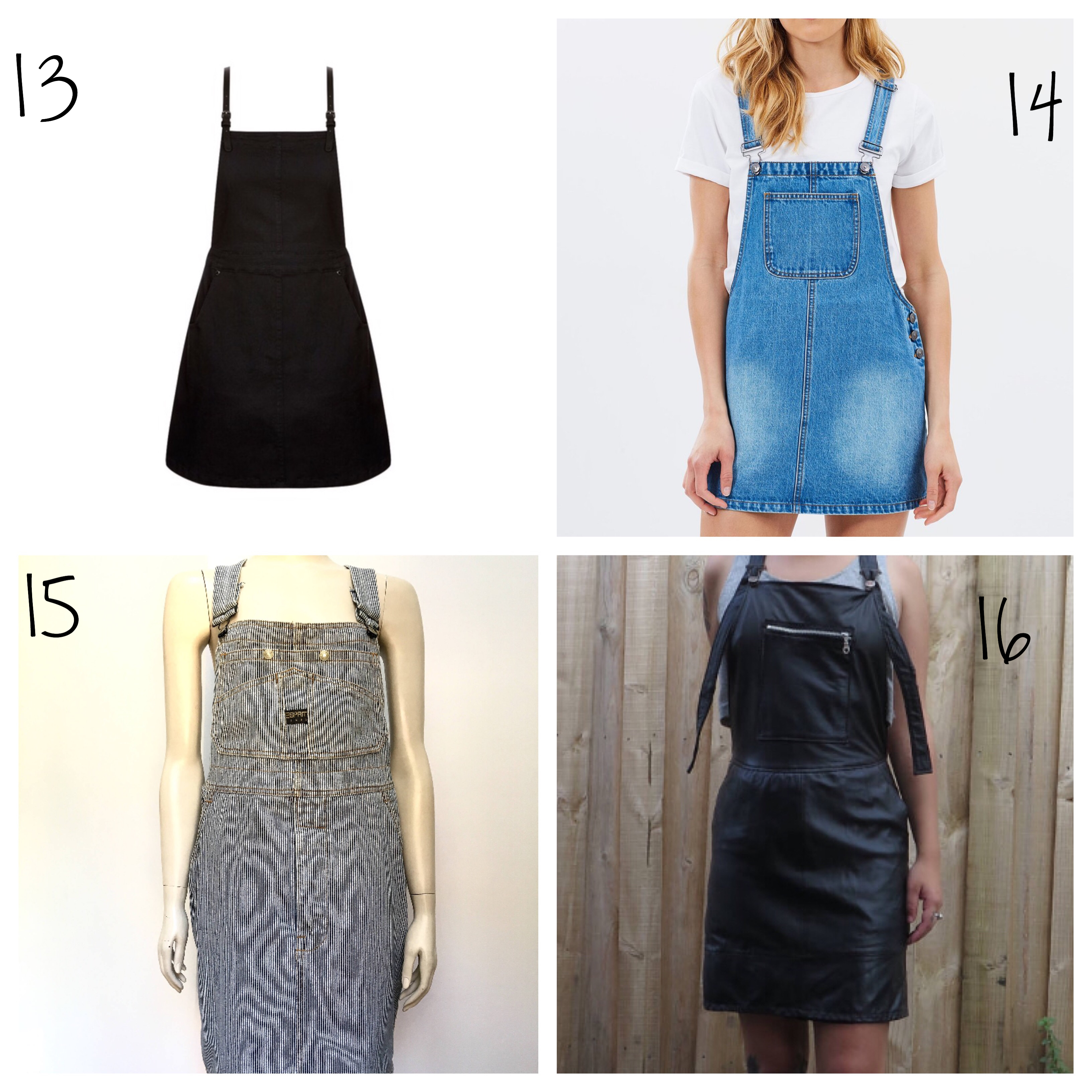 Plus size pinafore denim pinafores and more